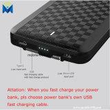 4 in 1 caricatore portatile esterno della Banca portatile di potere con costruito nel tipo C & micro USB & illuminazione & cavo del USB