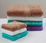熱い販売法の反応染まる多彩な浴室タオル、表面タオル、手タオル、ホテルタオル
