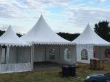 Tent van de Pagode van de Buis van de luxe de Vierkante Pop omhooggaande voor het Huwelijk van de Partij