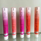 China Pbl tubo blando cosmético tapa flip top
