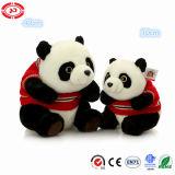 Le panda chinois de qualité de peluche de mascotte badine le jouet bourré mou de cadeau