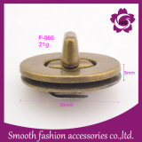 Saco de liga metálica Vintage moda gire a trava Mala de Hardware de Acessórios