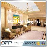 Mattonelle di marmo spesse grigio-chiaro della rete 10mm per la decorazione interna con l'installazione di DIY