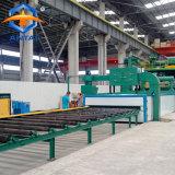 Passer à travers le type de rouleau Derusting Abrator pour plaque d'acier et le profil de l'acier