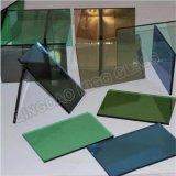 espejo teñido coloreado profundamente de proceso de 2-6m m de cristal