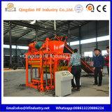 Bloc Qt4-25 concret décoratif formant la machine de fabrication de brique de couplage de machines