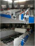 Papiergewebe-Rückspulenmaschine, wirbelnde Maschine für Verkauf