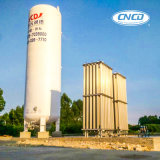 真空の粉の絶縁体の低温液化ガス窒素タンク