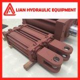 Tipo Pistão personalizados viagem reta do cilindro hidráulico para a indústria metalúrgica