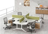 현대 작풍 우수한 직원 분할 워크 스테이션 사무실 책상 (PZ-022)