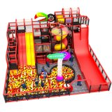 Piscina parque infantil com crianças Slide da saída de fábrica