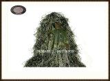 Poliéster Respirável Exército Verde Ghillie Suit para esportes ao ar livre (FY-001)