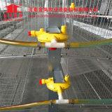 Gabbie del pollo della strumentazione di azienda agricola e sistema d'alimentazione