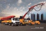 XCMG 공식적인 제조자 Hb46aiii-I 46m 트럭에 의하여 거치되는 구체 펌프