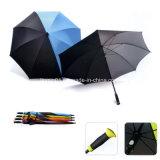 カスタマイズされたデザインエヴァの創造的なハンドルのまっすぐなゴルフ傘