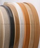 光沢のあるプラスチック端バンディングの装飾的な木製のストリップ