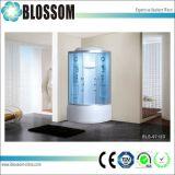 Cabina completa de la ducha del masaje de cristal del vapor de Matt de la alta calidad (BLS-9712D)