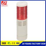 La iluminación de la torre de advertencia de LED con intermitente y zumbador
