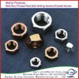 DIN/IFI/ASME/ANSI des écrous à tête hexagonale