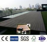 고품질 Eco-Friendly 구렁 WPC Decking