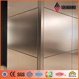 Ideabond RoHS ha certificato il comitato composito di alluminio spazzolato poliestere (AE-32)