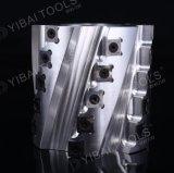 Tct-schraubenartiger Hobel-Scherblock mit umschaltbaren Karbid-Messern für die hölzerne Planieren-Aluminium Karosserie (Feuergebühren)