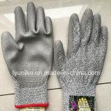 Разрежьте устойчив против Vibrasion трикотажные безопасности рабочие перчатки