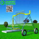 Movable Agricultural Toilets Real Sprinkler Irrigation System clouded