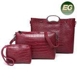 Shoulder Handbag Woman新しいデザイン袋の中国の製造者Sy8647からの一定の女性ショッピング・バッグのワニの穀物のハンド・バッグ