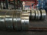 Tira de aço galvanizada mergulhada quente laminada revestida zinco de Dx51d Z140 para o telhado