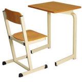 Estudante único de madeira chineses mesa e cadeira/mobiliário escolar (FS-3215)