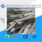 99,7% de sucata de alumínio 6.063