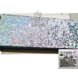 2017 новый диск Sequin пластиковые панели наружной настенной панели