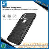 AluminiumHandy-Shell der tasten-TPU für iPhone X