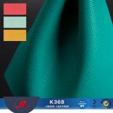 PVC Lichee 패턴 핸드백을%s 소파 실내 장식품 가죽을%s 합성 인공 가죽