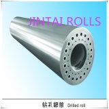 Grand bâti d'acier allié ou cylindre hydraulique de pièce forgéee