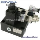 Válvula de gás de válvula proporcional hidráulica fixada hidráulica