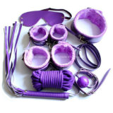 Sex Game Toys Love Restraints Leather Bondage Kits 7PCS Set
