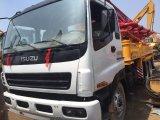 Pompe à cône montée sur camion Sany 37m d'occasion Châssis Isuzu