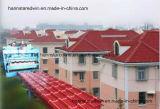 Azulejo de azotea de la resina sintetizada del Asa de las propiedades inmobiliarias de la construcción