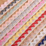 의복을%s 추가 색깔 면 크로셰 뜨개질 자수 레이스를 도매하십시오