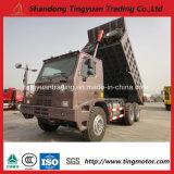 70トン鉱山のダンプカートラックHOWO中国