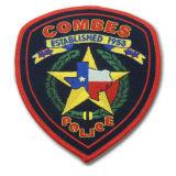 Zona tessuta personalizzata della polizia del ricamo per l'emblema