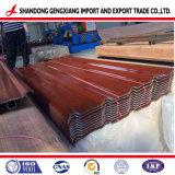 Caldo tuffato strato d'acciaio ondulato del galvalume/galvanizzata tetto