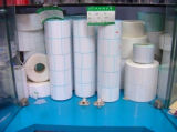 Format personnalisé pour l'étiquette blanche de papier thermique