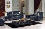 Античная софа кожи мебели софы для классического комплекта софы