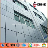 Ideabond Prata 4mm Exterior Decoração Alumínio Revestimento