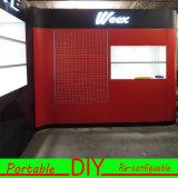 Diseñar estructuras portátiles de encargo DIY de exposición compuestos Percha