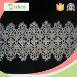 Импортированный оптовой продажей шнурок нового способа ткани флористический химически для платья