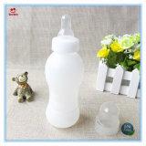 200 мл BPA бесплатный портативный бутылка воды выжмите сок из расширительного бачка с смазочный ниппель